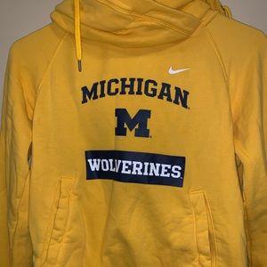 Michigan Tunnel Neck Sweatshirt